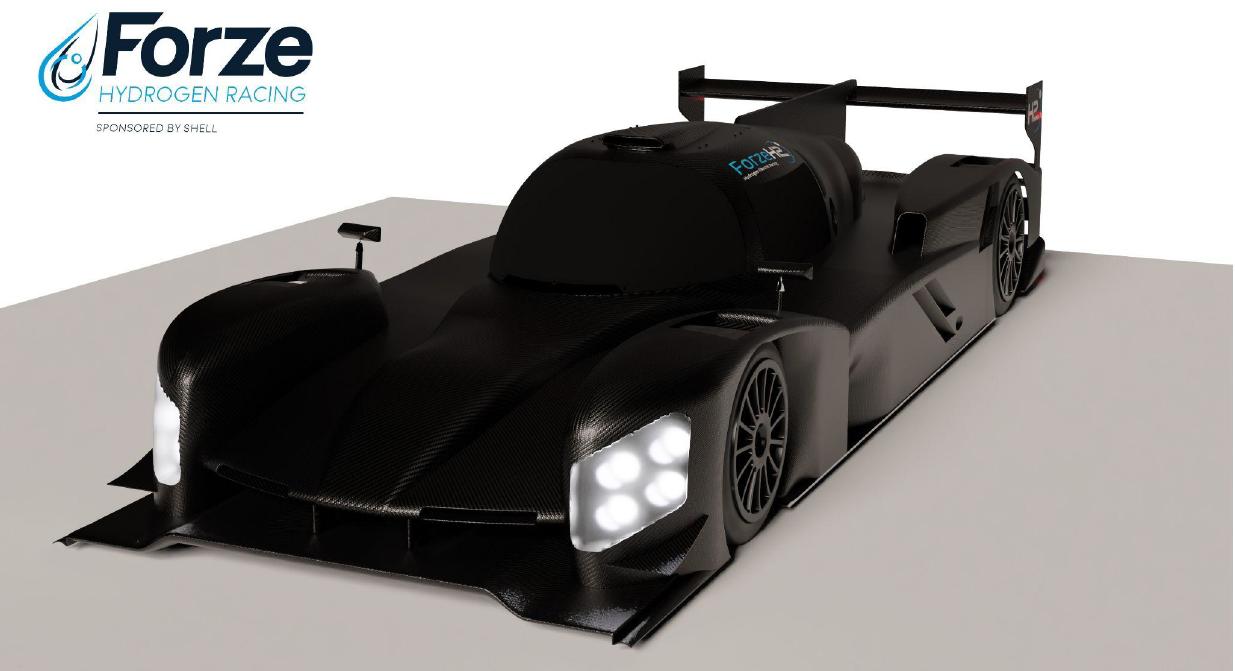 Forze 9 racing car